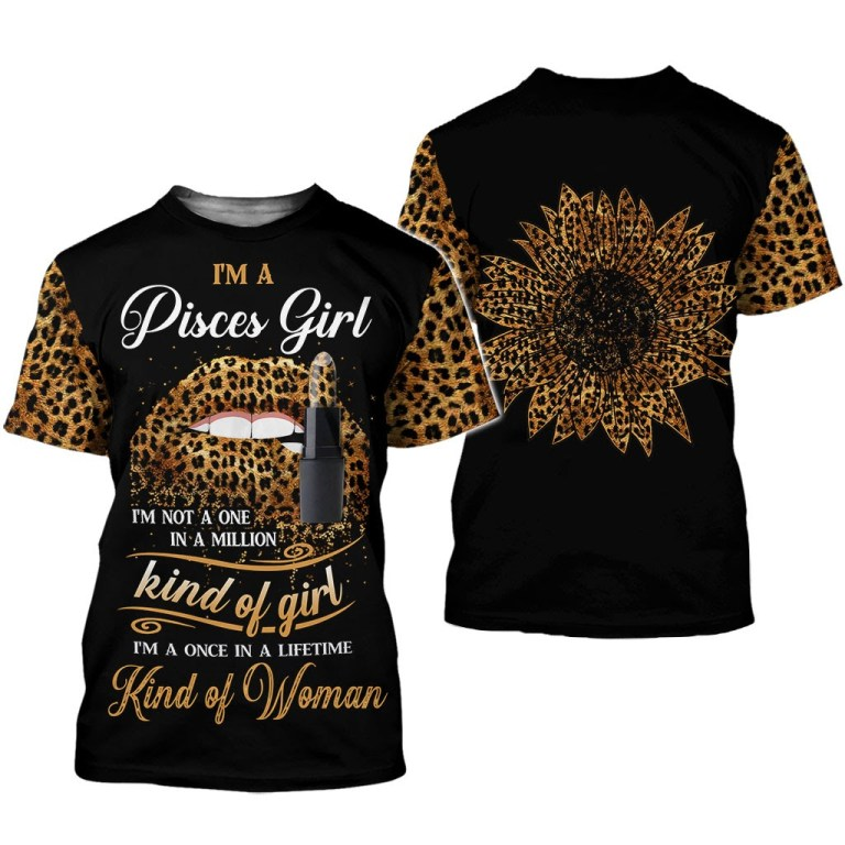 Im a Pisces girl Im not a one in a million kind of girl tank top and legging 2