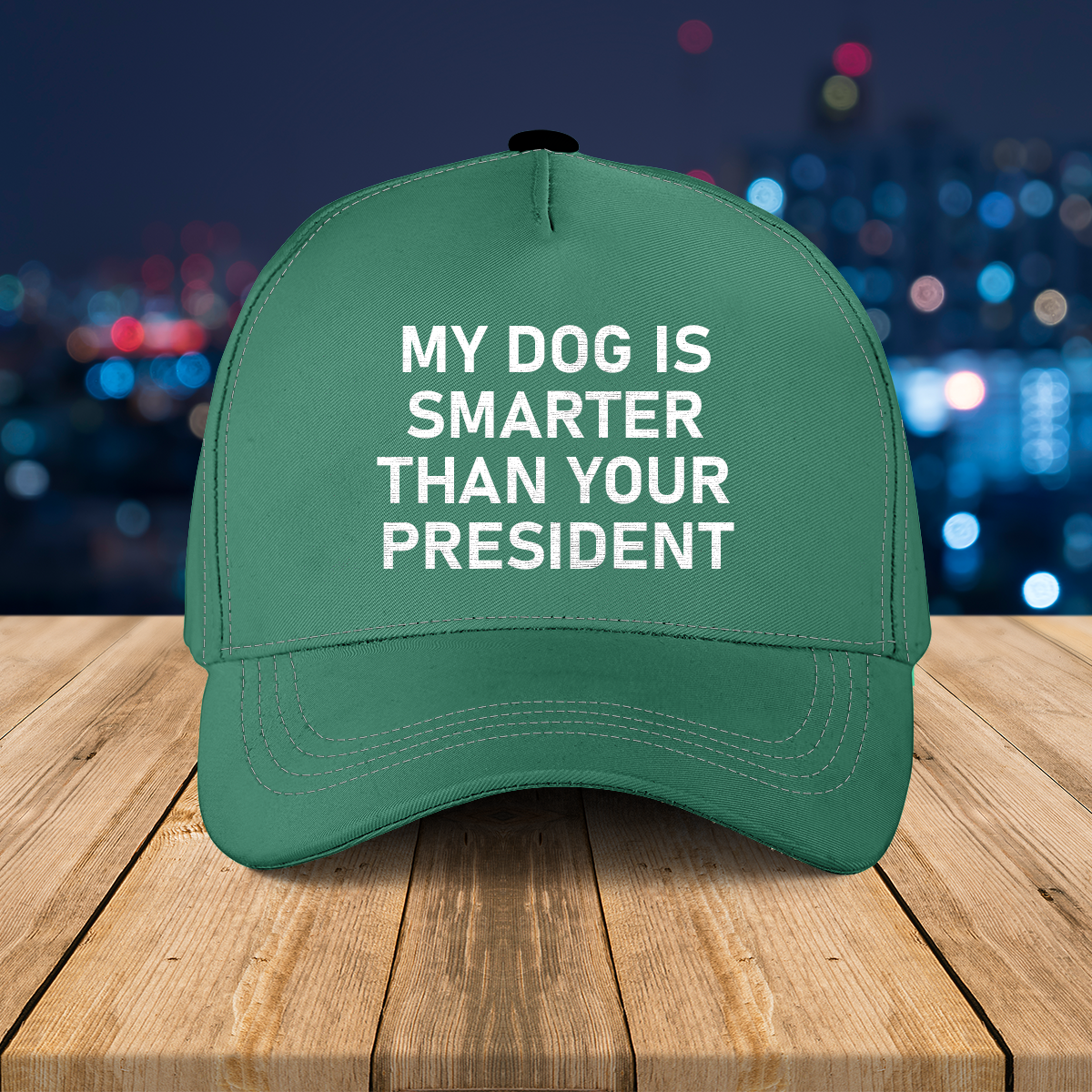 My dog Is smarter than your president cap1