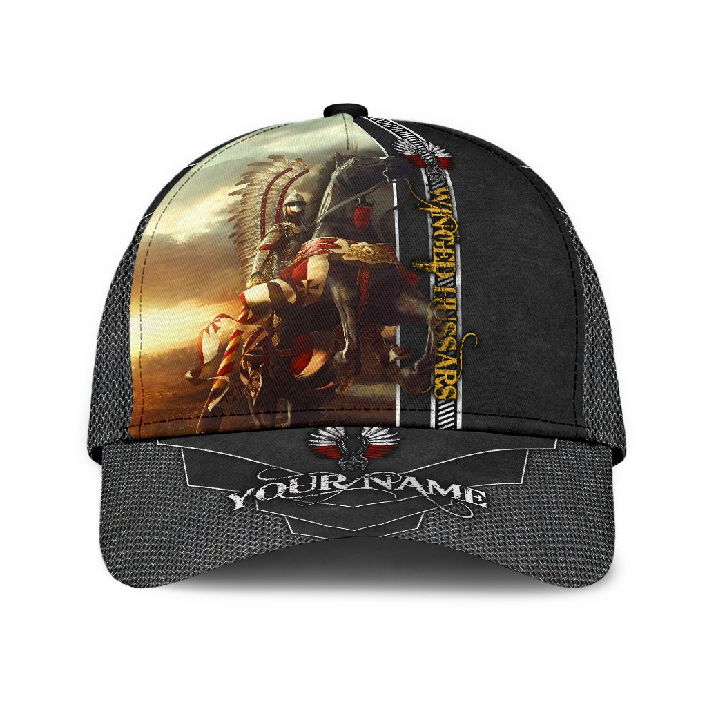 Polish Winged Hussars custom name cap 1