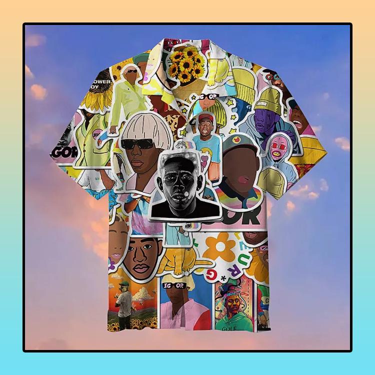 Pop Rapper Tyler Commemorative Hawaiian Shirt4