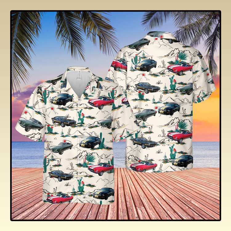 Shelby Mustang Hawaiian Shirt3