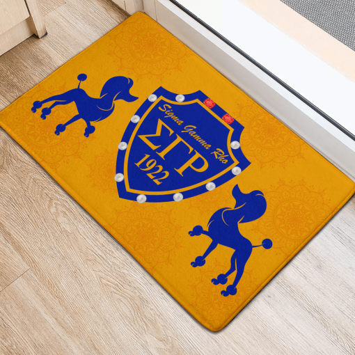 Sigma Gamma Gold Rho Sorority 1922 Doormat