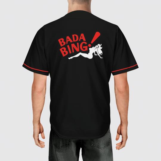 Sopranos baseball jersey shirt1
