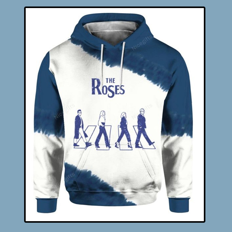 The Roses Abbey Road Schitts Creek Graphic Hoodie 3D4
