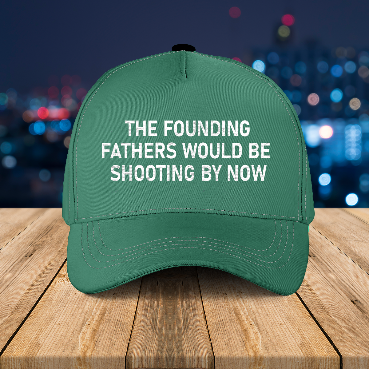 The founding father would be shooting by now cap1