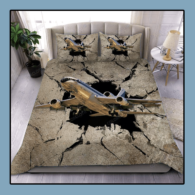 The sky is calling aircraft bedding set1