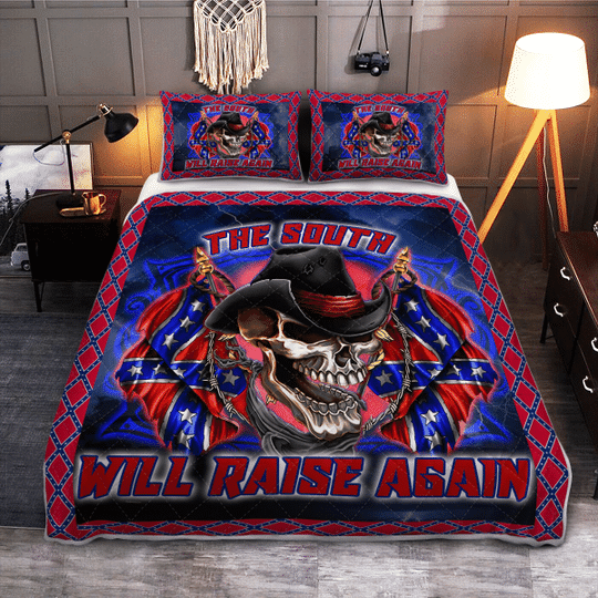 The south will raise again Quilt bedding set4