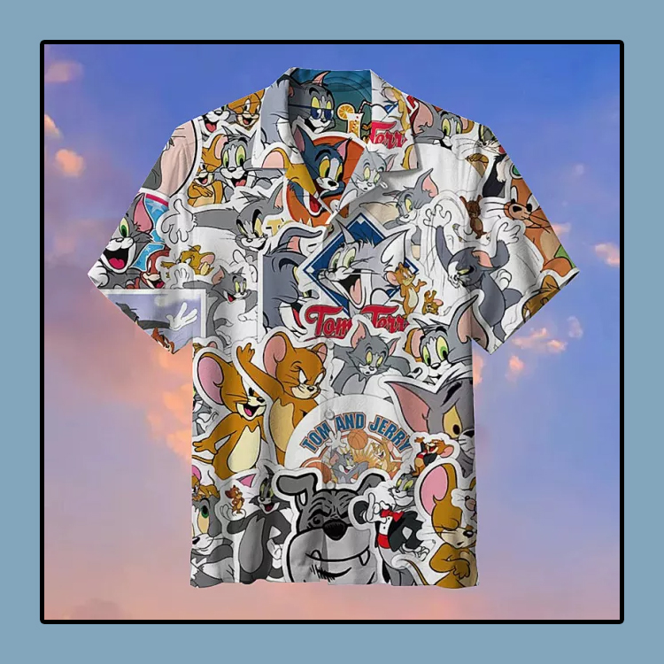 Tom and Jerry Commemorative Hawaii Shirt4