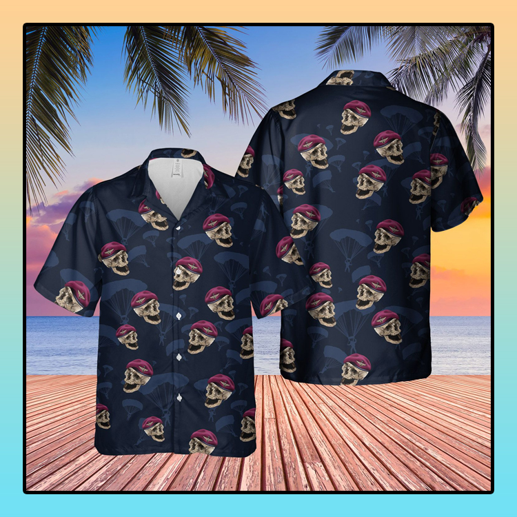 UK parachute regiment hawaiian shirt4