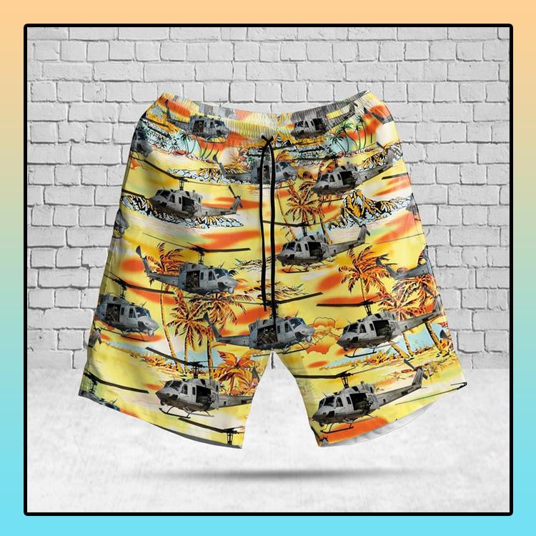 USMC UH 1N Twin Huey Hawaiian Shirt And Shorts4