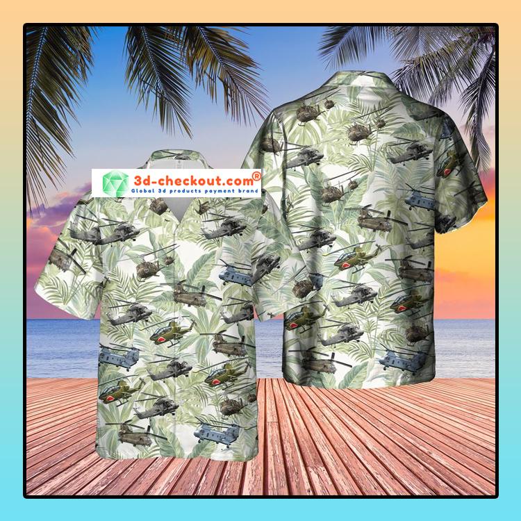 Vietnam Era Helicopters Hawaiian Shirt3