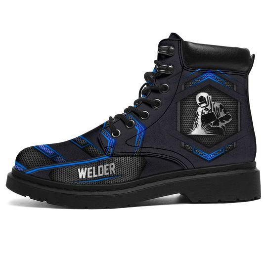 Welder Boots Carbon Pattern1