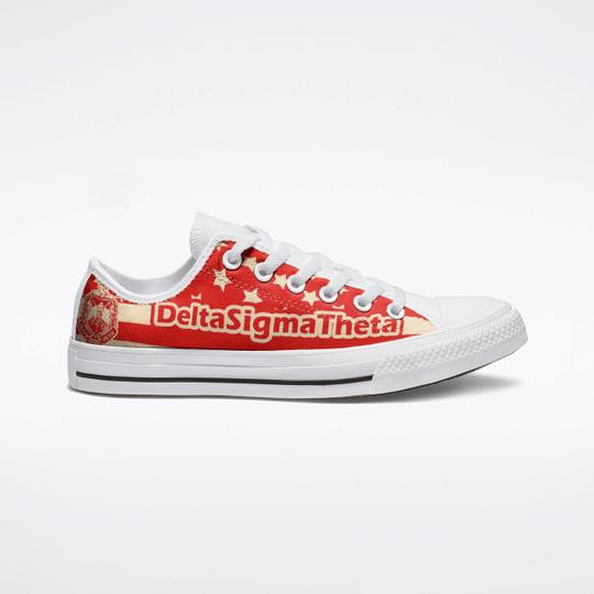 23 Delta Sigma Theta Low Top Shoes 1
