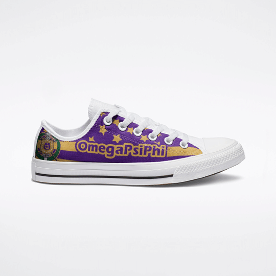 26 Omega Psi Phi Low Top Shoes 1