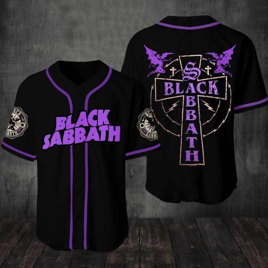 27 Black Sabbath Baseball Jersey Shirt 1
