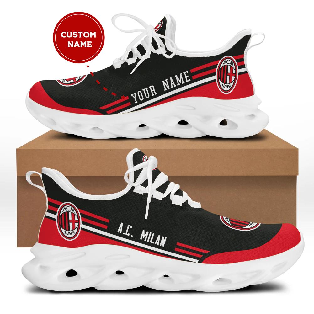 Ac milan custom name sneakers