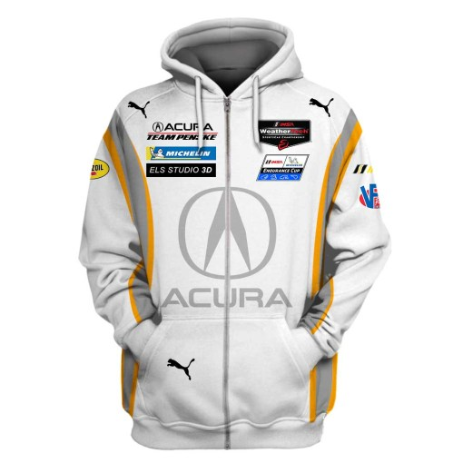 Acura F1 racing 3d hoodie