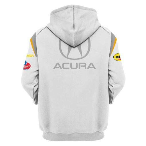 Acura F1 racing 3d hoodie1