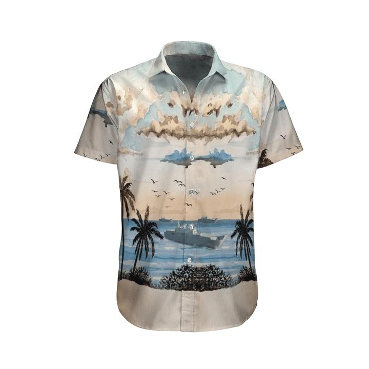 Adelaide royal australian navy hawaiian shirt