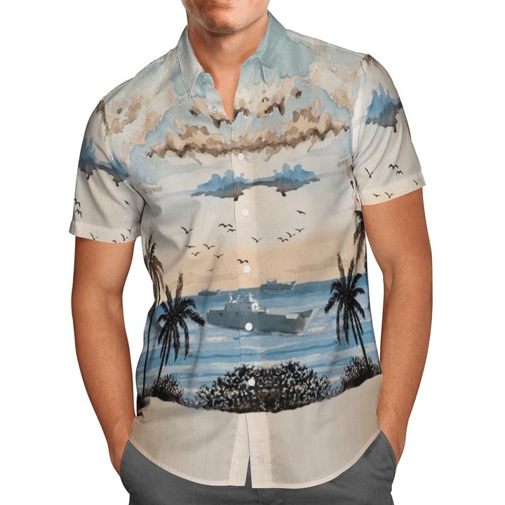 Adelaide royal australian navy hawaiian shirt1