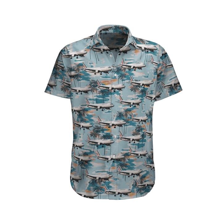 Air france airbus a320 hawaiian shirt