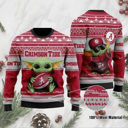 Alabama Crimson Tide Ugly Christmas Sweater