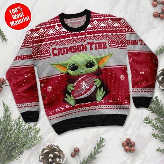 Alabama Crimson Tide Ugly Christmas Sweater1