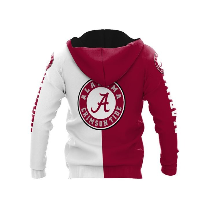 Alabama crimson tide thank for the memories 3d hoodie 2