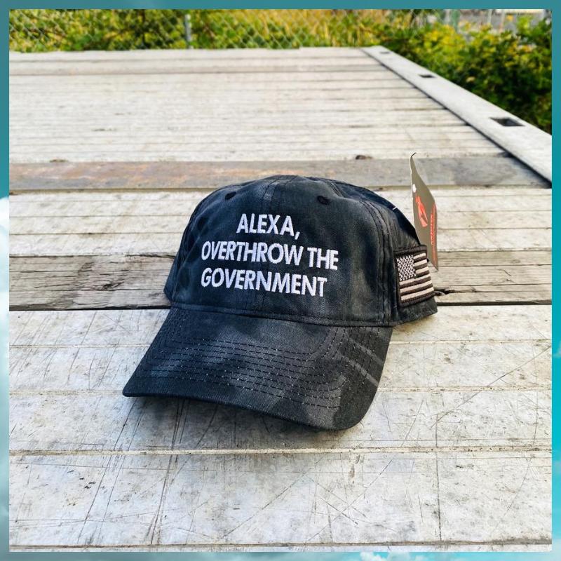 Alexa Overthrow The Government cap hat 1