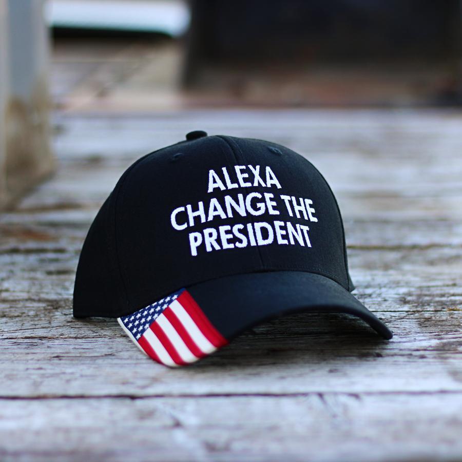 Alexa change The President cap hat