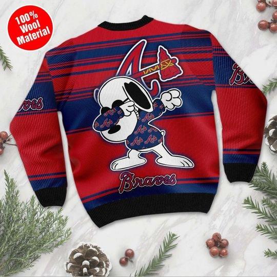 Atlanta Braves Ugly Christmas Sweater1