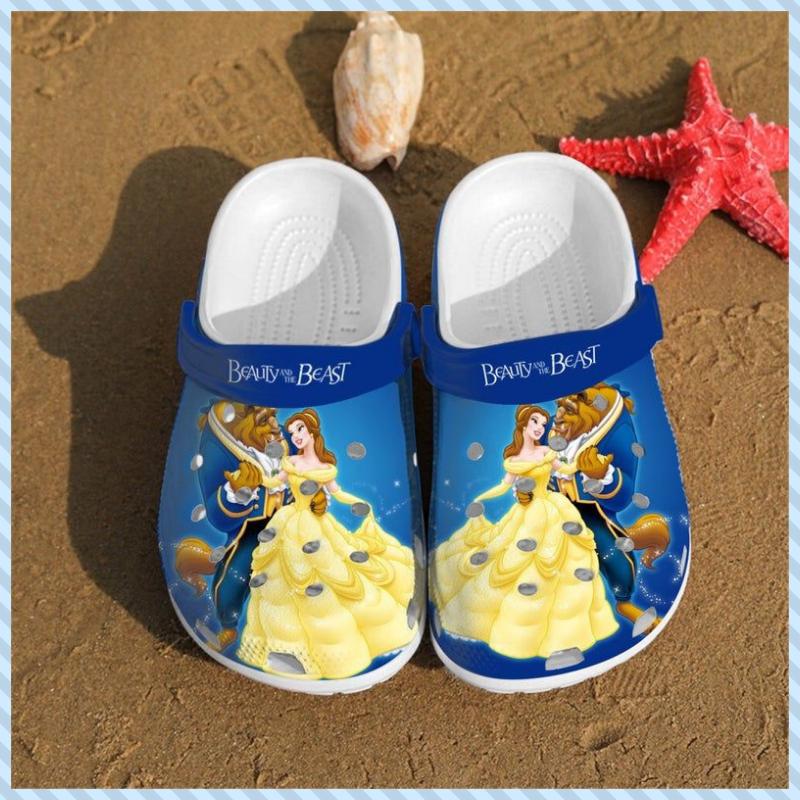 Beauty and the Beast crocs crocband shoes 2
