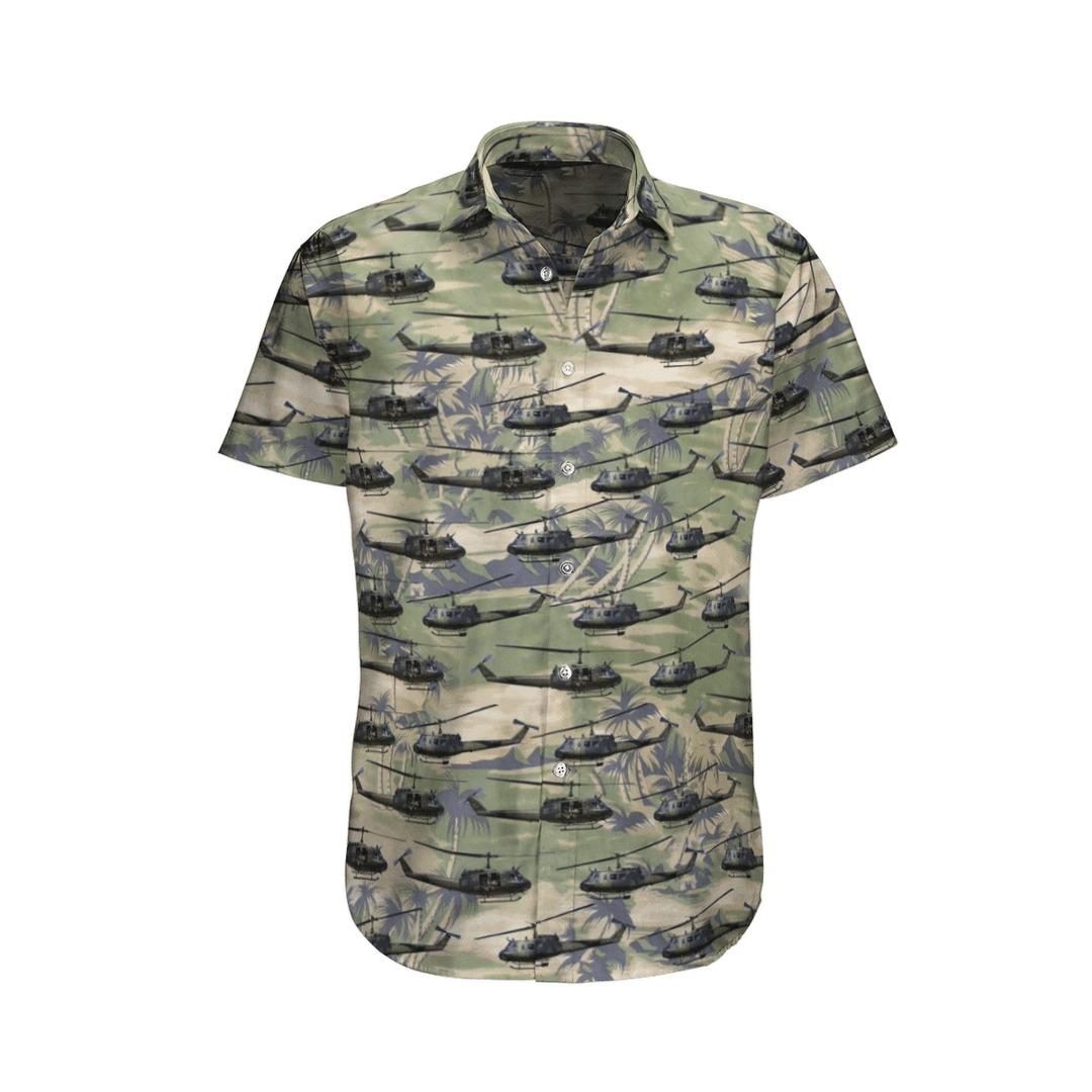 Bell Uh1d iroquois germany army hawaiian shirt 3