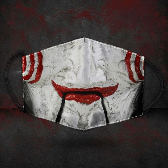 Billy The Puppet Horror Mask