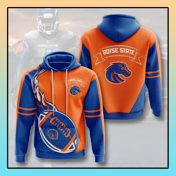 Boise State Broncos All over print 3d hoodie1 1