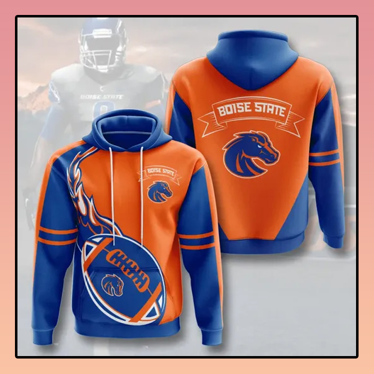 Boise State Broncos All over print 3d hoodie2 1