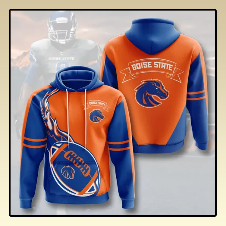 Boise State Broncos All over print 3d hoodie3 1