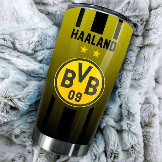Borussia Dortmund Custom Name Tumbler2