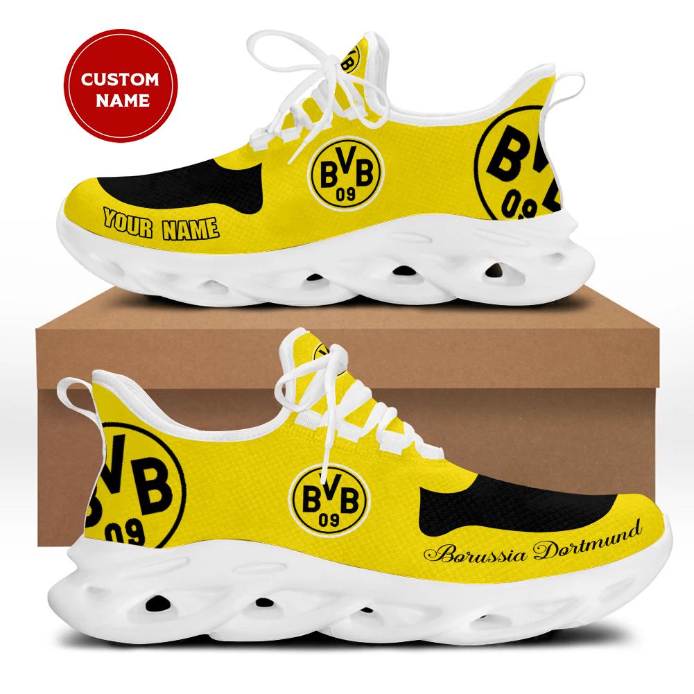 Borussia dortmund custom name sneakers