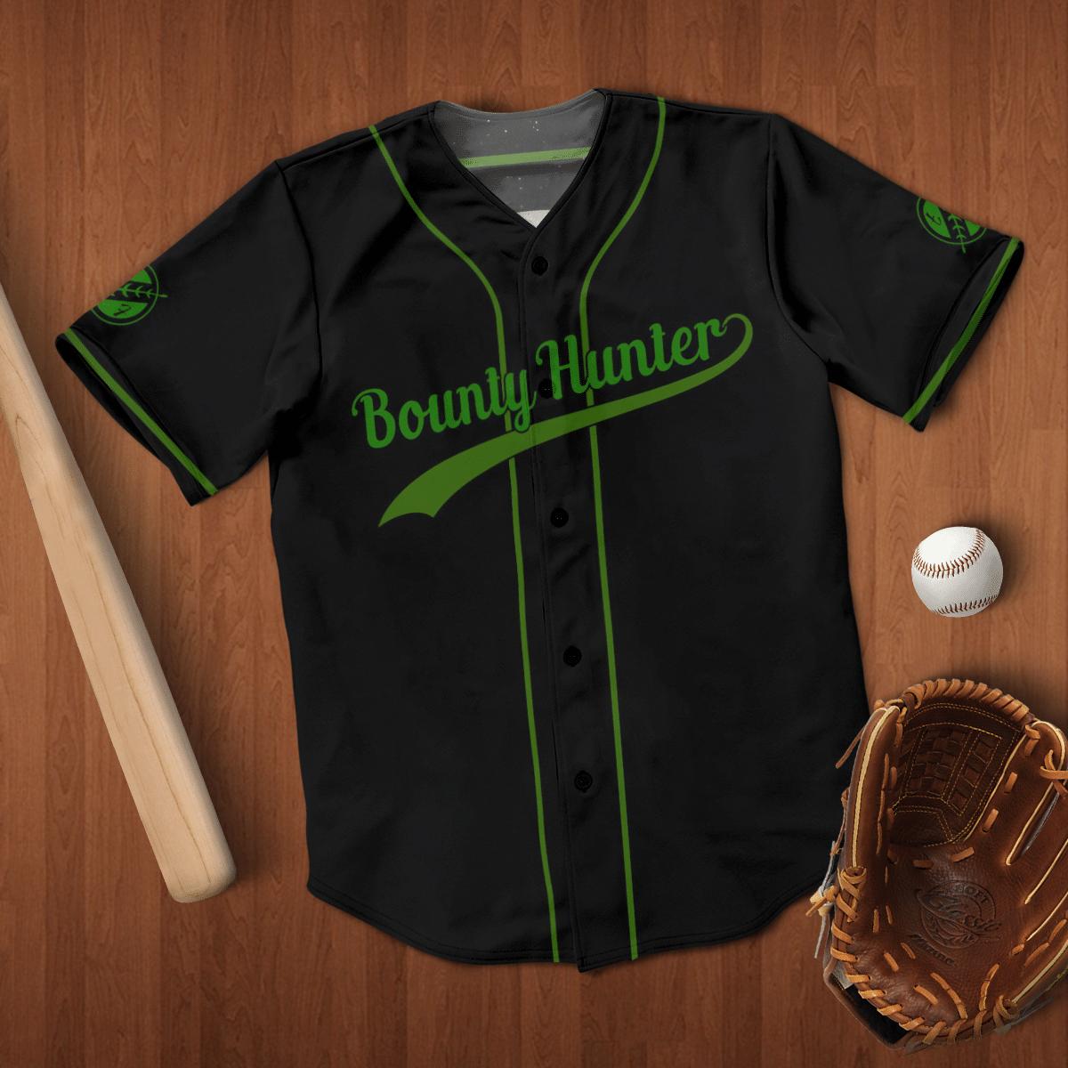 Bounty hunter baseball shirt