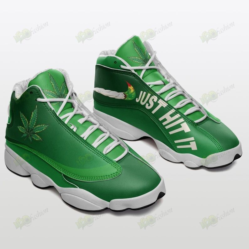 Cannabis Just hit it Jordan 13 shoes 1