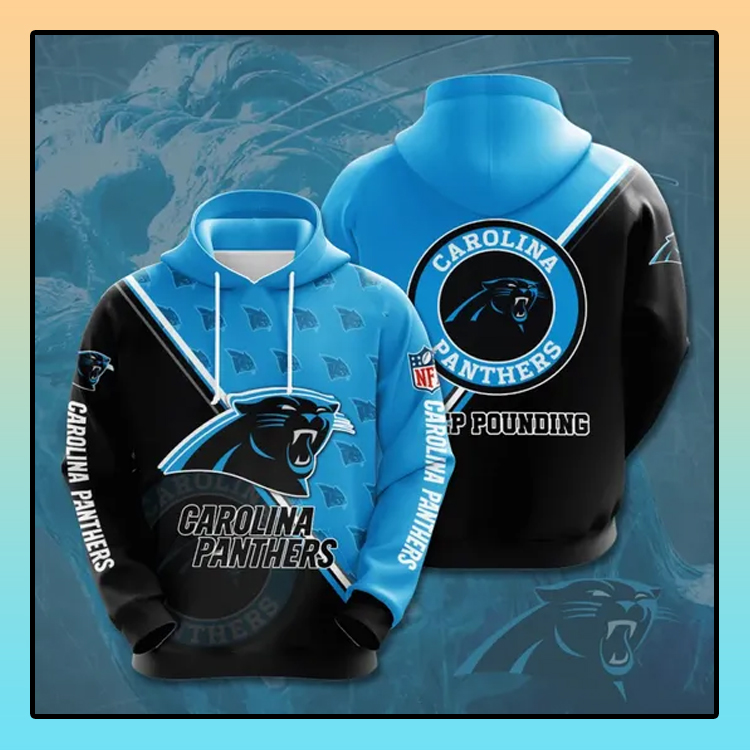 Carolina Panthers All over print 3d hoodie1 1