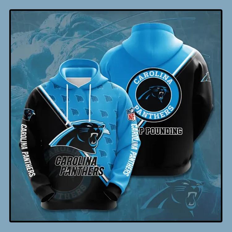 Carolina Panthers All over print 3d hoodie4 1