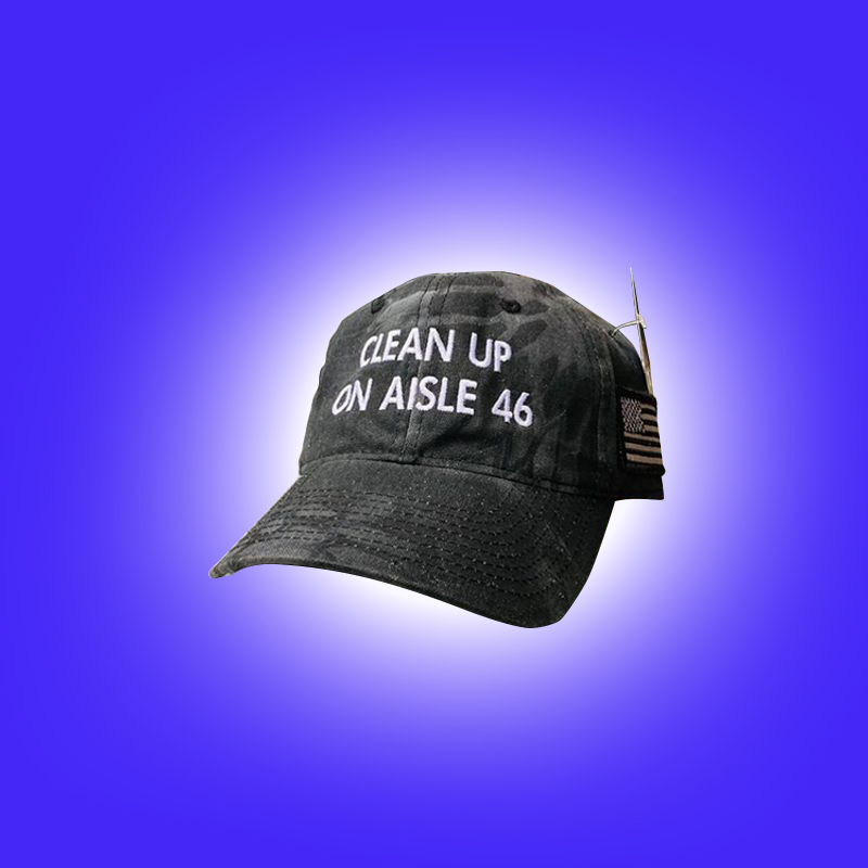 Clean Up On Aisle 46 Hat 1 2