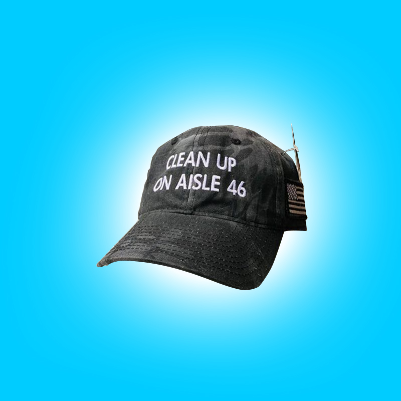 Clean Up On Aisle 46 Hat 2 1