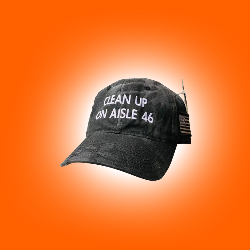 Clean Up On Aisle 46 Hat 5