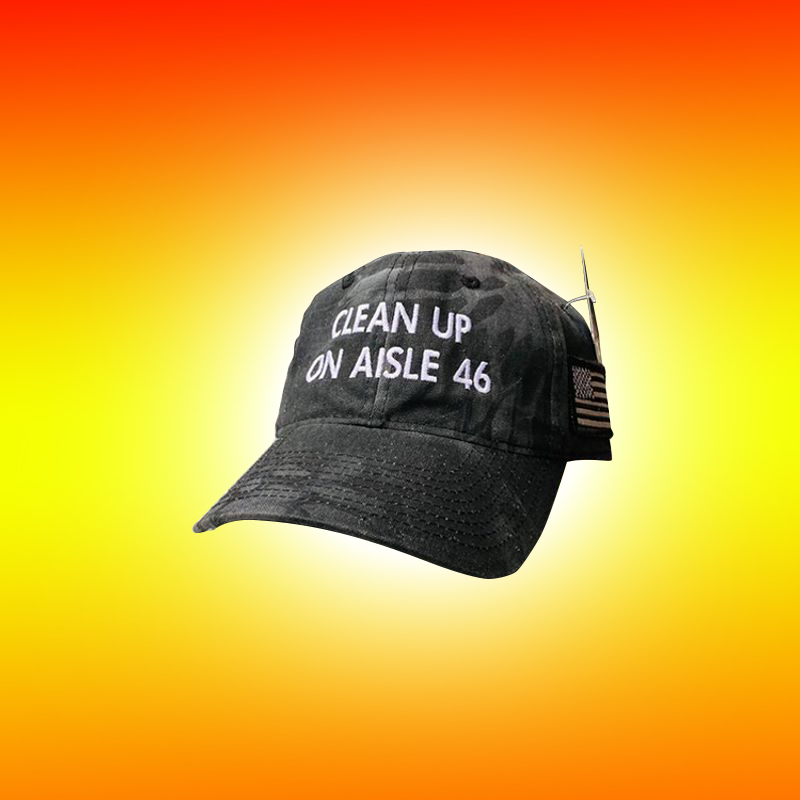 Clean Up On Aisle 46 Hat 8