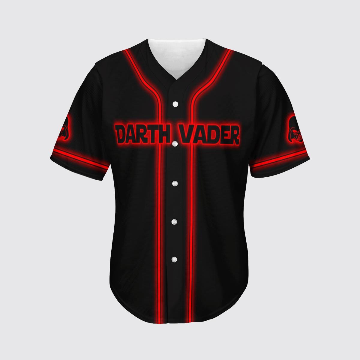 Darth Vader Star Wars baseball shirt
