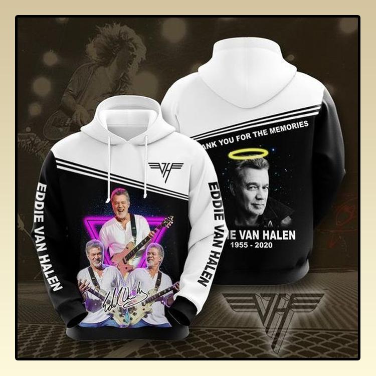 Eddie Van Halen All over print 3d hoodie3 1
