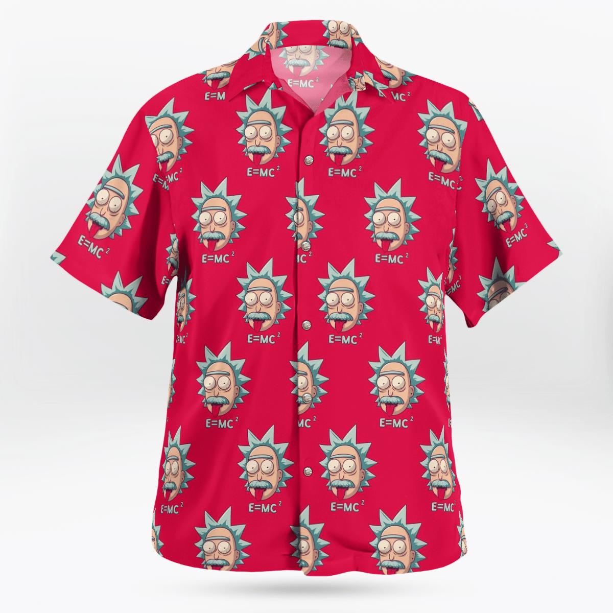 Einstein Emc2 Hawaiian shirt